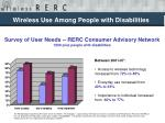 wireless use among people with disabilities