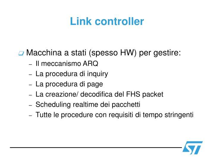 Link controller