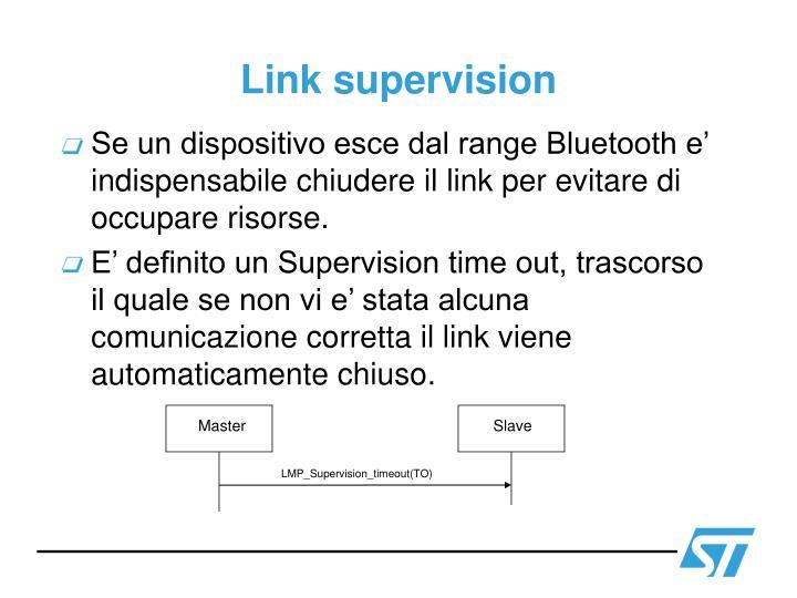 Link supervision
