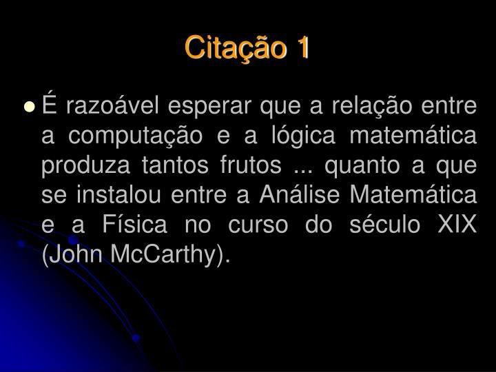 Citação 1