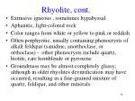 rhyolite cont