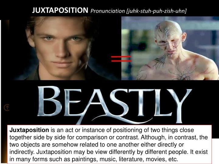 Juxtaposition pronunciation juhk stuh puh zish uhn