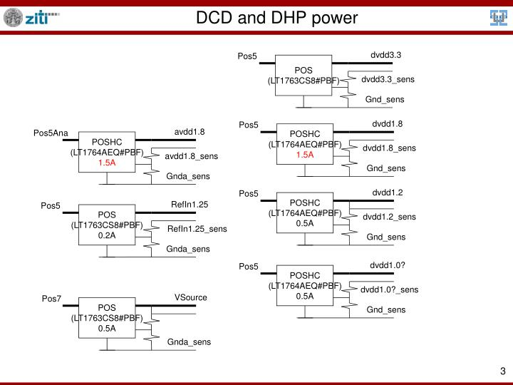 Dcd and dhp power