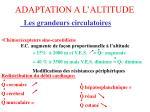 adaptation a l altitude2