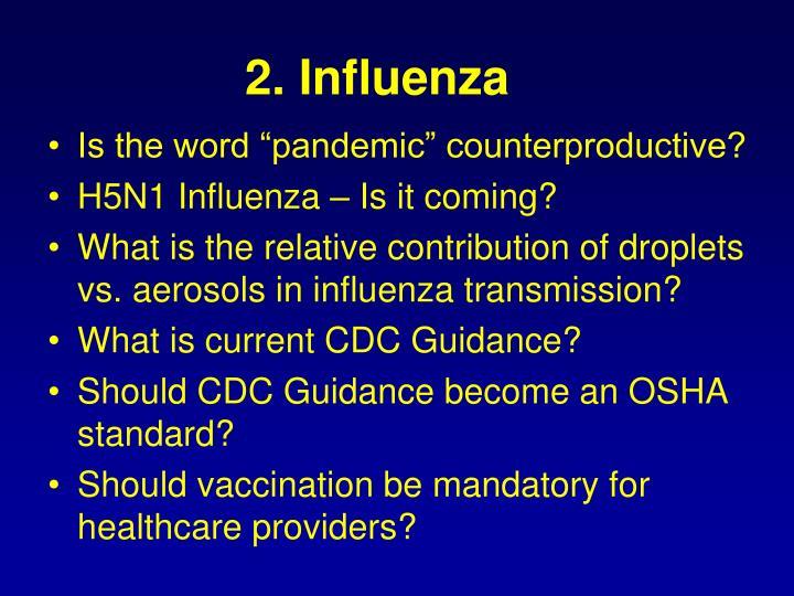 2. Influenza