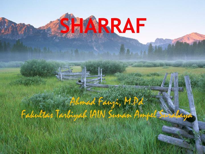Sharraf
