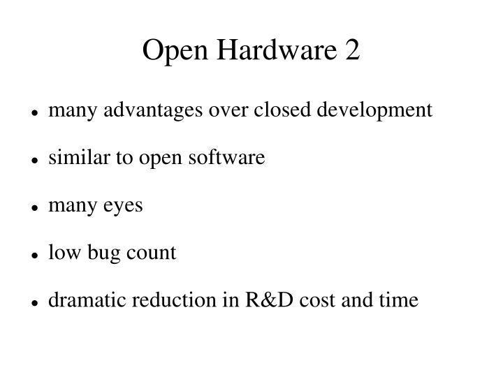 Open Hardware 2