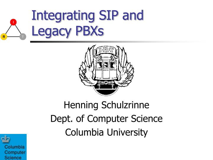 Integrating sip and legacy pbxs