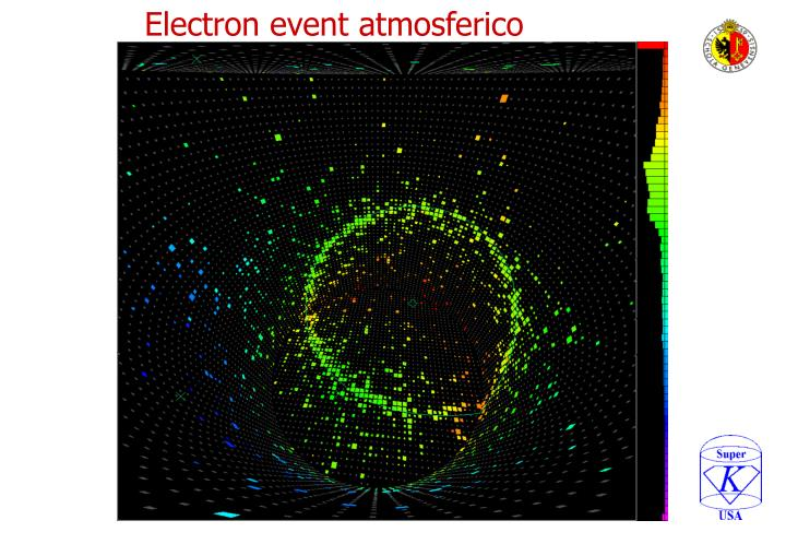 Electron event atmosferico