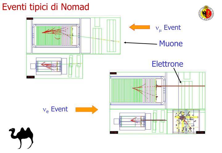 Eventi tipici di Nomad