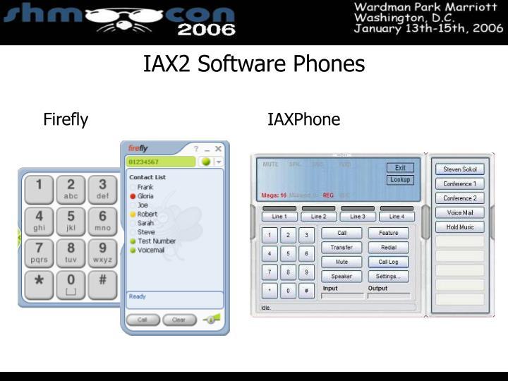 IAX2 Software Phones