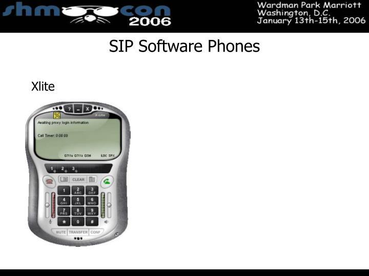 SIP Software Phones