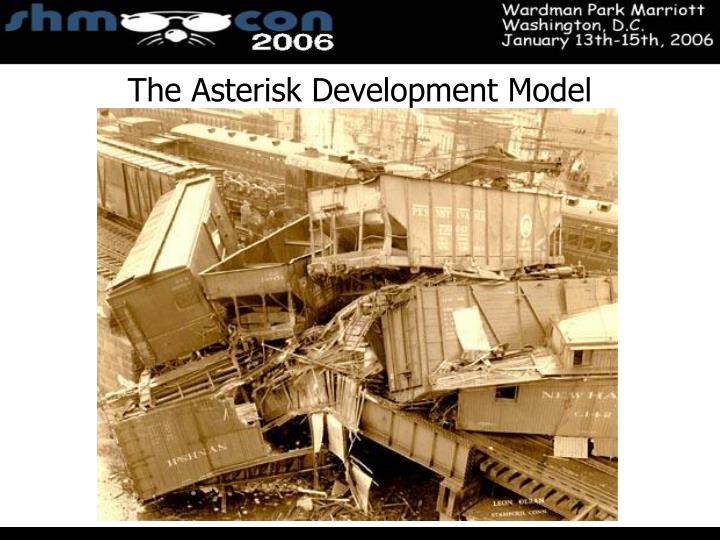 The Asterisk Development Model