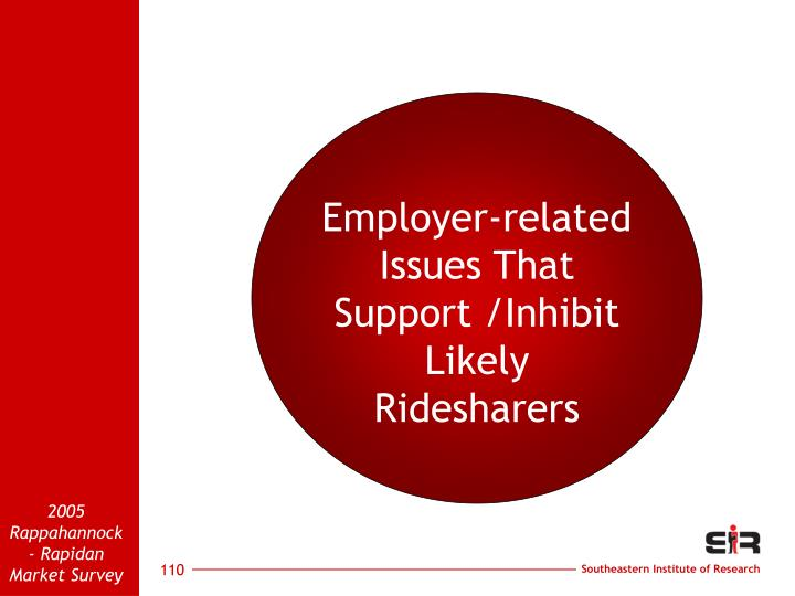 Employer-related
