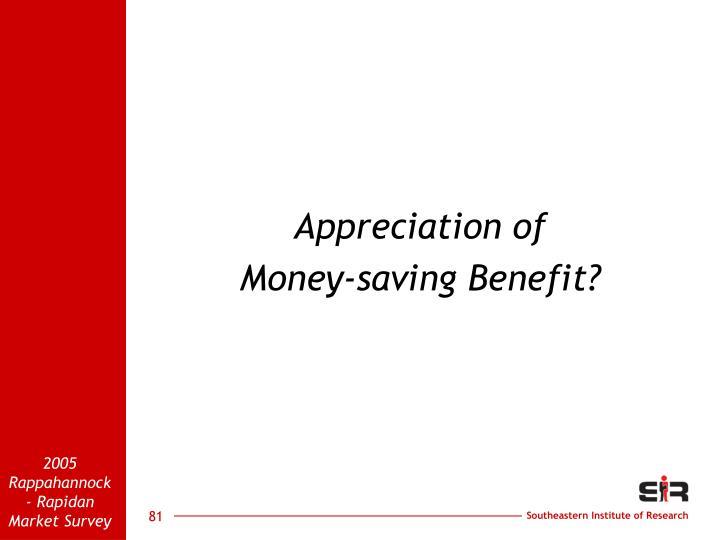 Appreciation of