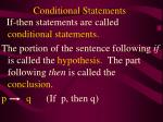 conditional statements1