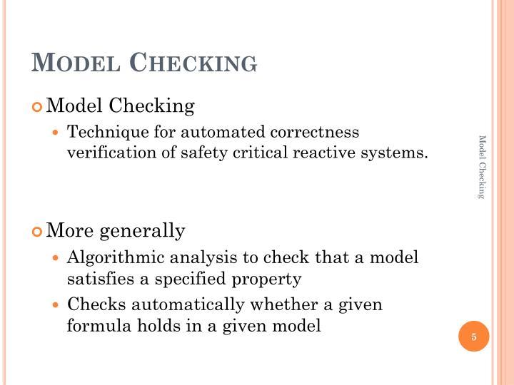Model Checking