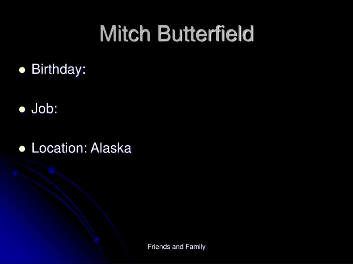 Mitch Butterfield