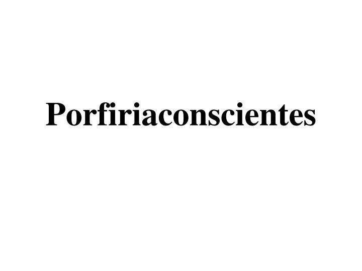 Porfiriaconscientes