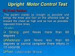 upright motor control test1