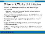citizenshipworks lhi initiative