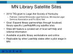 mn library satellite sites