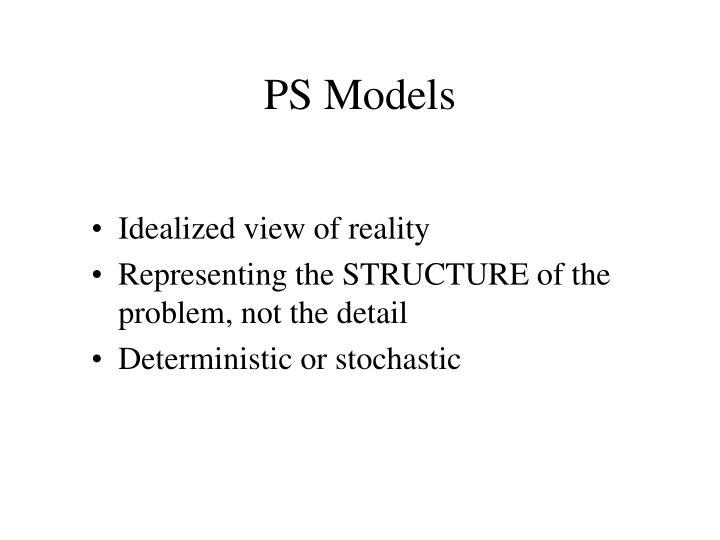 PS Models