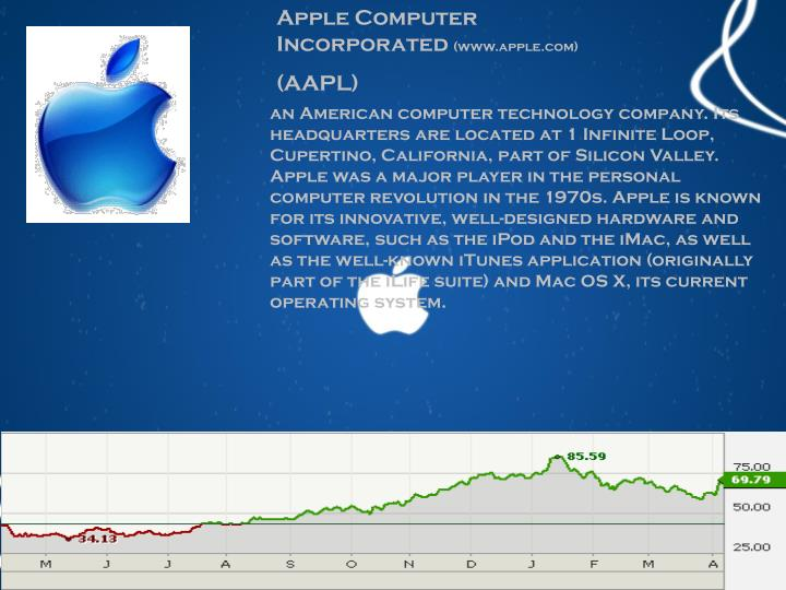 Apple Computer Incorporated