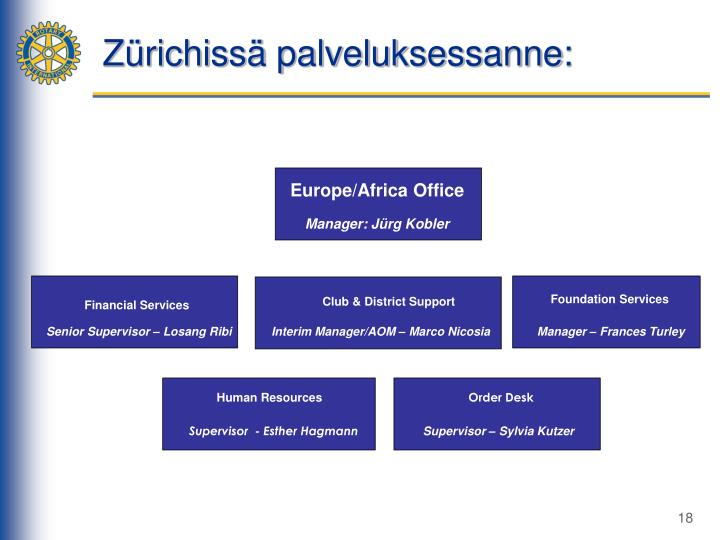 Europe/Africa Office