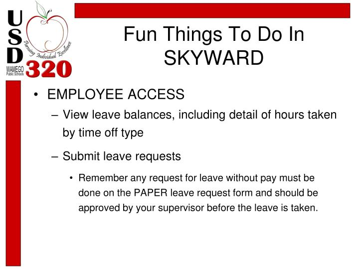 Fun things to do in skyward1