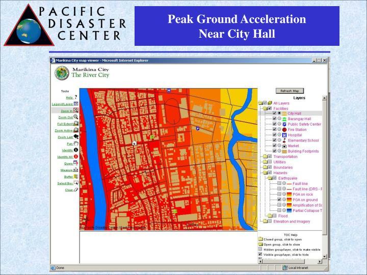 Peak Ground Acceleration