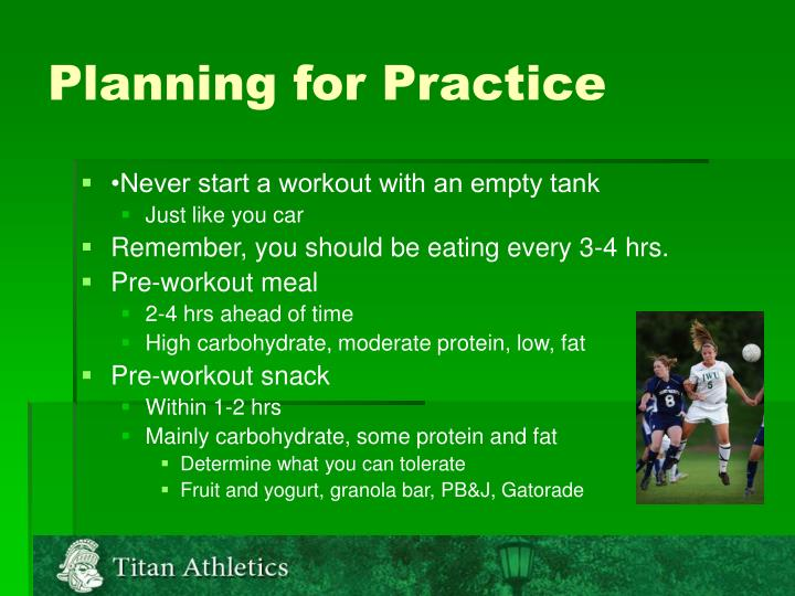 Planning for Practice