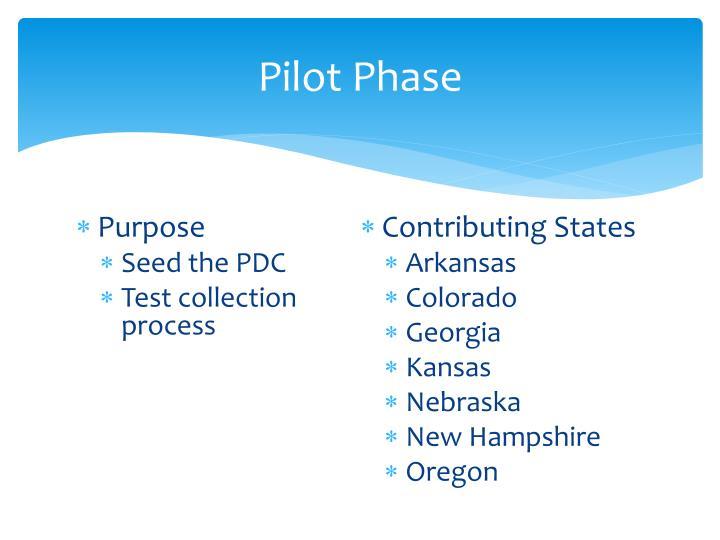 Pilot Phase