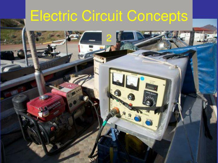 electric circuit concepts n.