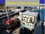 electric circuit concepts