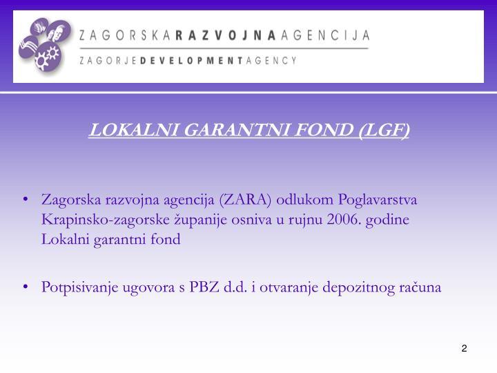 Lokalni garantni fond lgf
