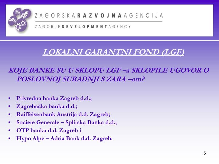Privredna banka Zagreb d.d.;