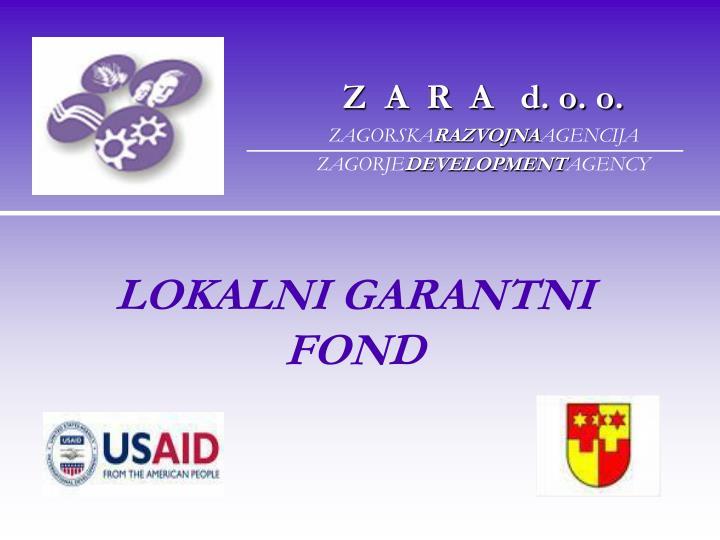 Lokalni garantni fond