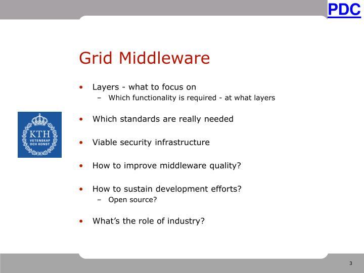 Grid middleware1