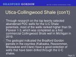 utica collingwood shale con t