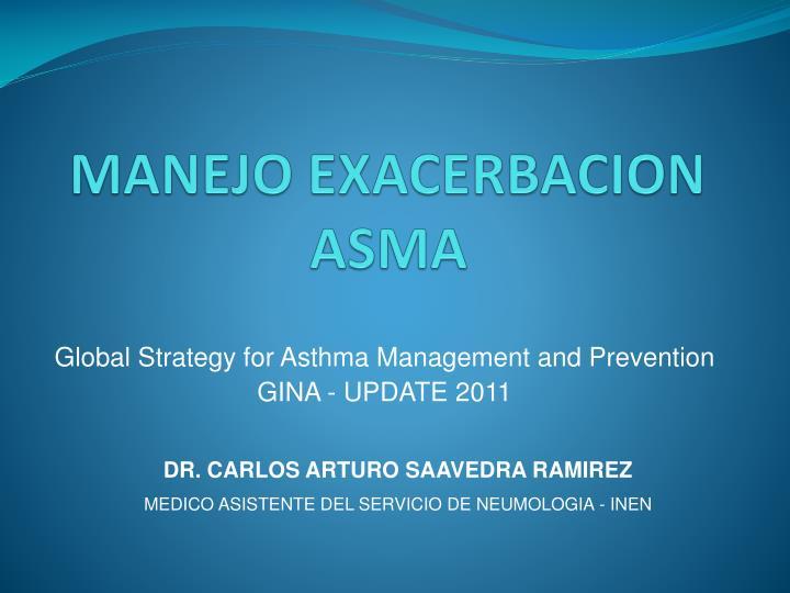 manejo exacerbacion asma
