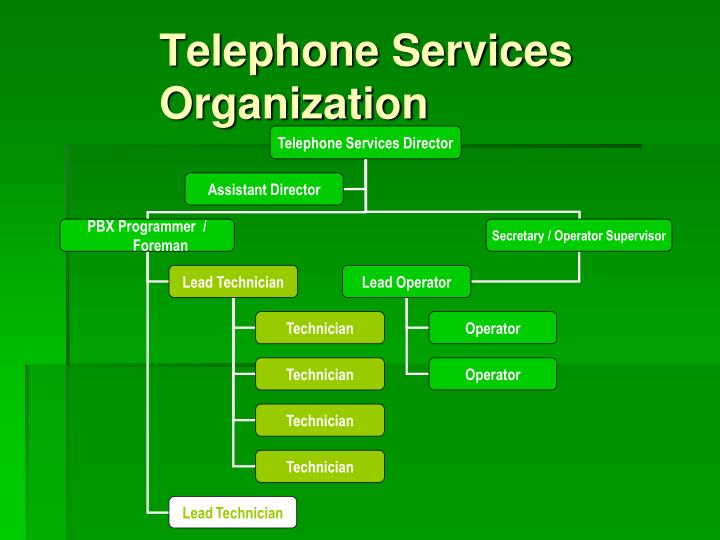 Telephone Services Organization