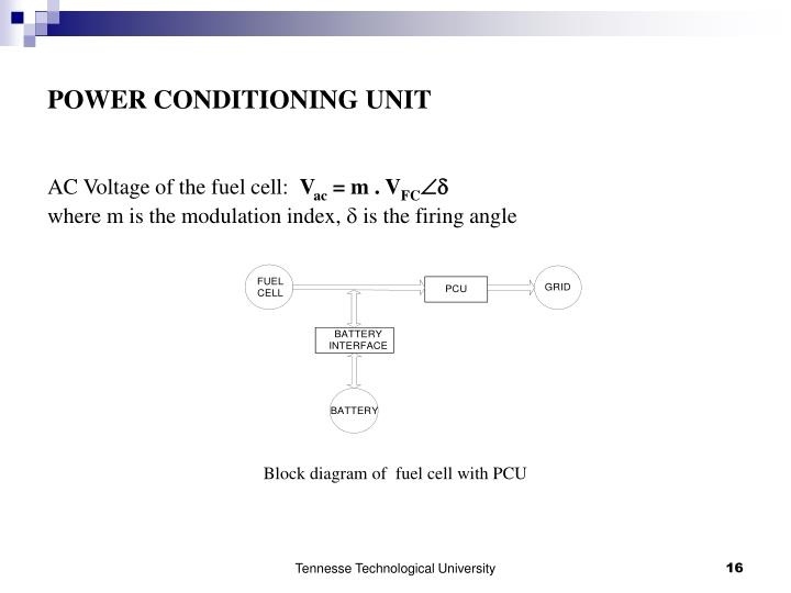 POWER CONDITIONING UNIT