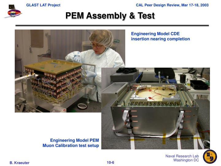 PEM Assembly & Test