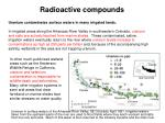 radioactive compounds16