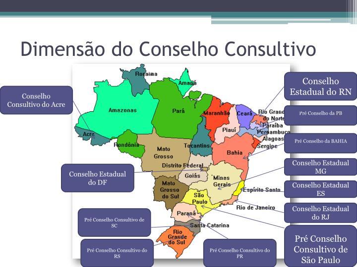 Dimensão do Conselho Consultivo