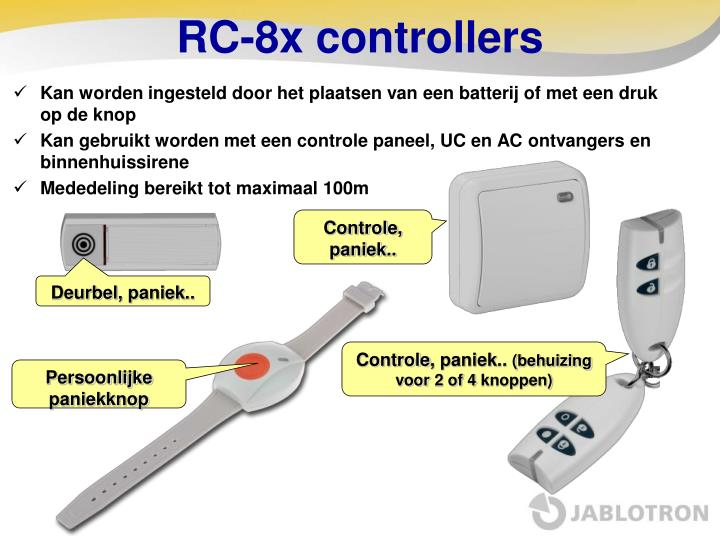 RC-8x controllers