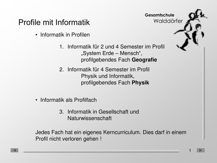 profile mit informatik n.