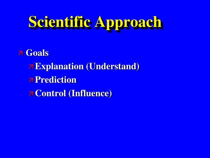 Scientific approach1