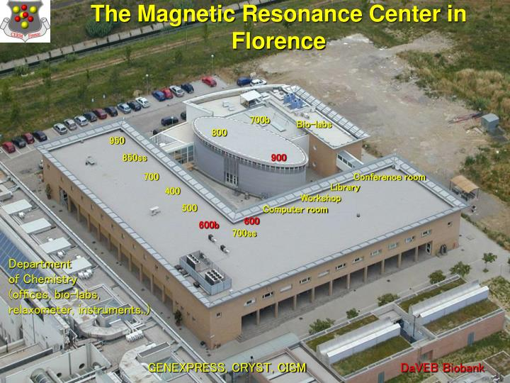 The Magnetic Resonance Center in Florence